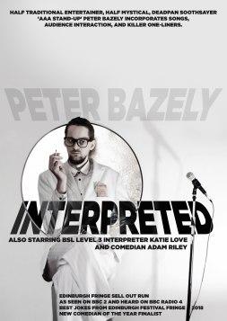 PeterBazelyInterpreted